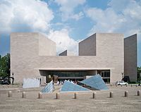 East Wing of the National Gallery of Art in Washington, D.C., by I M. Pei (1978)
