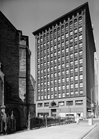 Prudential (Guaranty) Building by Louis Sullivan in Buffalo, New York (1896)