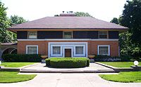 William H. Winslow House, by Frank Lloyd Wright, River Forest, Illinois (1893–94)