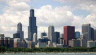 Willis Tower in Chicago was the first building to use the bundled-tube design.