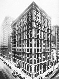 Home Insurance Building in Chicago by William Le Baron Jenney (1883)