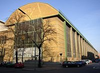 The AEG Turbine factory by Peter Behrens (1909)
