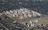 The Wendell O. Pruitt Homes and William Igoe Apartments Housing Project, in St. Louis (1955-1976)