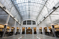 Austrian Postal Savings Bank in Vienna by Otto Wagner (1904–1906)