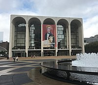 The Metropolitan Opera House at Lincoln Center in New York City by Wallace Harrison (1966)