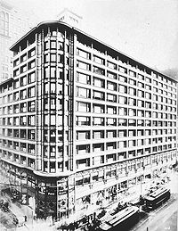 The Carson, Pirie, Scott and Company Building in Chicago by Louis Sullivan (1904–1906)