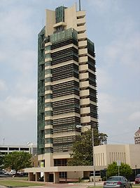 The Price Tower in Bartlesville, Oklahoma (1956)