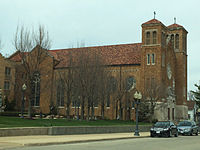 St Anthony of Padua Church in Rockford, Illinois