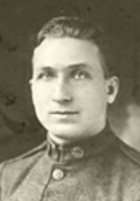 Michael Valente recipient of the highest military decoration, the Medal of Honor, for his actions during World War I