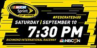 2016 Federated Auto Parts 400