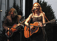 Rawlings and Welch performing in Seattle in 2009