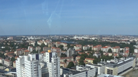 Look at Stockholm from Ericsson globe