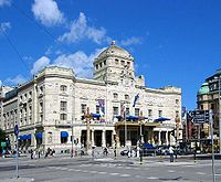 Royal Dramatic Theatre, one of Stockholm's many theatres.