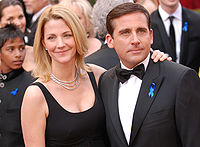 Carell and wife Nancy at the 82nd Academy Awards on March 7, 2010