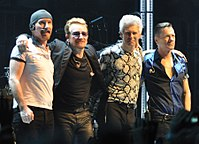 U2 are the only group act to win twice, in 1988 and 2006.