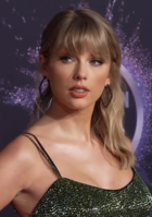 Taylor Swift is the first female act to win twice, in 2010 and 2016.