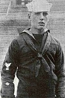 Enlisting at 18 in the US Navy in 1918, Bogart was recorded as a model sailor.