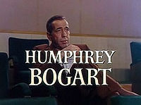 Bogart in a trailer for The Barefoot Contessa