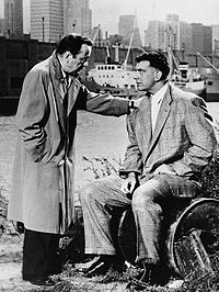 Bogart and Mike Lane in The Harder They Fall