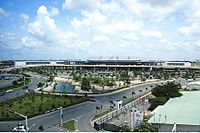 Tan Son Nhat International Airport is the busiest airport in the country.