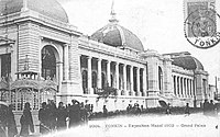 The Grand Palais built for the 1902–1903 world's fair as Hanoi became French Indochina's capital.