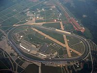 Talladega Superspeedway, the race track where the race was held.