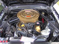 A 289 Ford Small Block V8 in a 1965 Ford Mustang