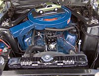 A 351 Windsor V8 in a 1969 Ford Mustang