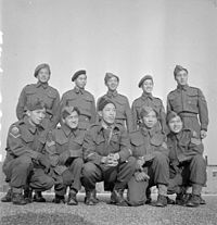 Chinese-Canadian soldiers from Vancouver serving in the Second World War