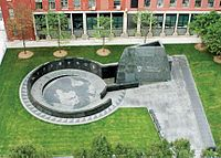 The African Burial Ground National Monument in Lower Manhattan
