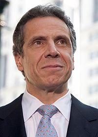 Andrew Cuomo (D), the 56th and current Governor of New York
