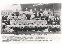 Chelsea's complete roster for the 1911–12 season