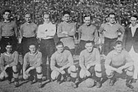 The Chelsea FC team that toured in Argentina in 1929