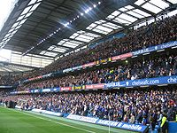 The East Stand, one of the main causes of Chelsea's financial problems in the 1970s and 1980s