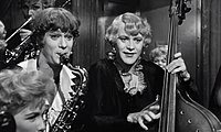 Tony Curtis and Jack Lemmon in Some Like it Hot (1959)