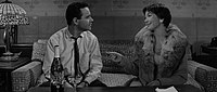 Lemmon and MacLaine in The Apartment (1960)