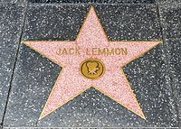 Lemmon's star at the Hollywood Walk of Fame, Los Angeles, California July 19, 2012