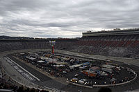 Bristol Motor Speedway, the race track where the race was held.