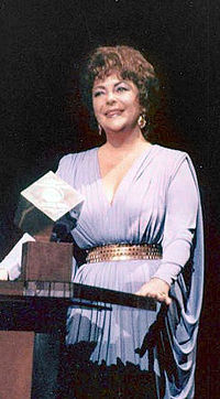 Taylor in 1981 at an event honoring her career